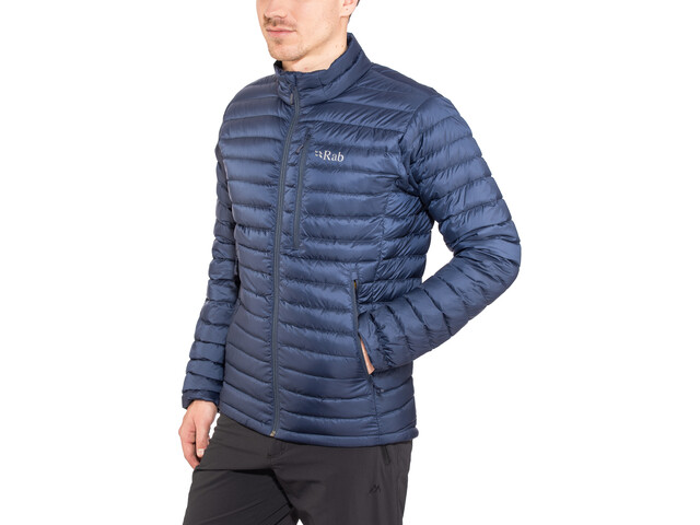 Rab Microlight Jacke Herren deep ink/footprint